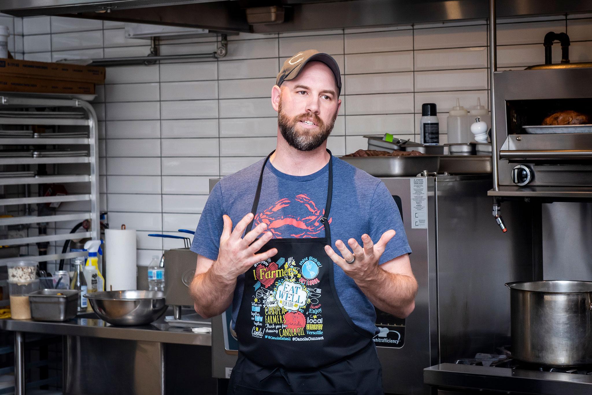 Chef John Horne